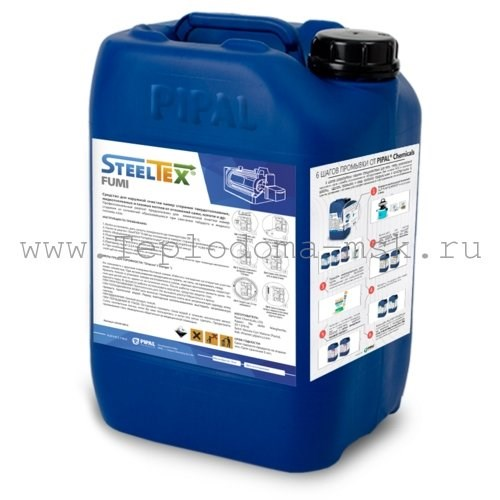 SteelTex FUMI - Очистка отложений, нагара, копоти Москва Пластинчатый теплообменник Kelvion LWC 150L Липецк