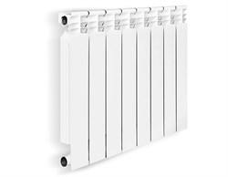 Биметаллический радиатор OASIS 500/80 8 секций    - фото 4623