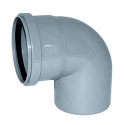 Отвод канализационный 110х90