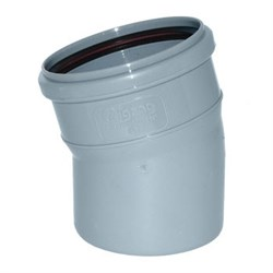 Отвод канализационный 110х15