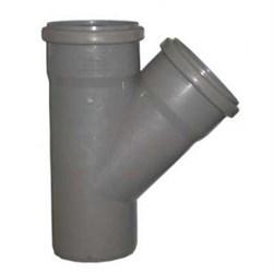 Тройник канализационный 110х110х45
