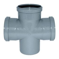 Крестовина канализационная 110х110х110х90