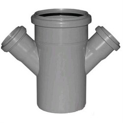 Крестовина канализационная 110х50х50х45