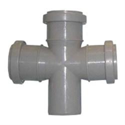 Крестовина канализационная 50х50х50х90