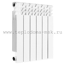 Алюминиевый радиатор GERMANIUM NEO AL 500 6 секций - фото 6787