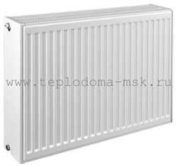 Стальной панельный радиатор COPA Standart 22 500х1400 боковое подключение - фото 6931