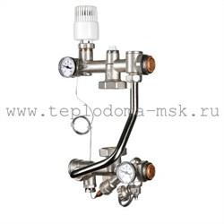 Насосно-смесительный узел для тёплого пола VALTEC TECHNOMIX