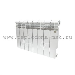 Биметаллический радиатор STI 500 80, 6 секций