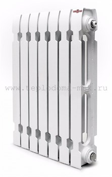 Чугунный радиатор Konner Modern 500, 7 секций