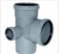 Крестовина канализационная 110х110х50х90 2-х плоскостная левая