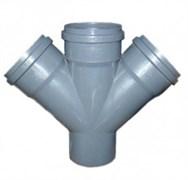 Крестовина канализационная 110х110х110х45