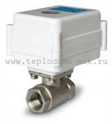 Кран шаровый с электроприводом Neptun Aquacontrol 220В 3/4