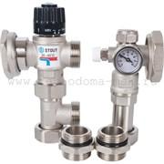 STOUT Насосно-смесительный узел с термостатическим клапаном (SDG-0120-004000)